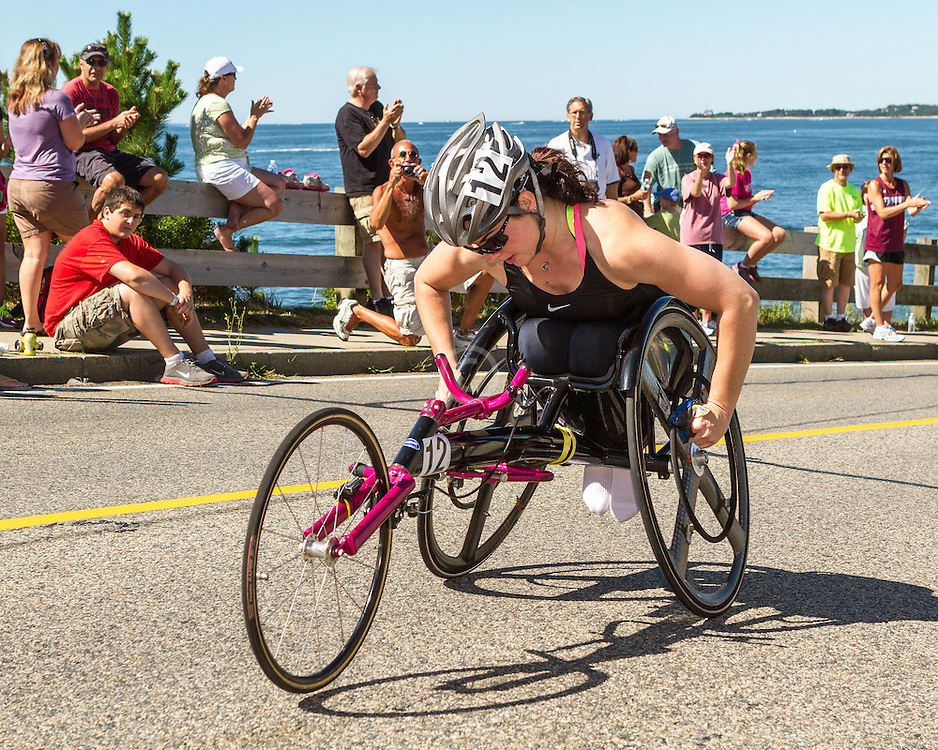 41st Falmouth Road Race: Jessica Galli