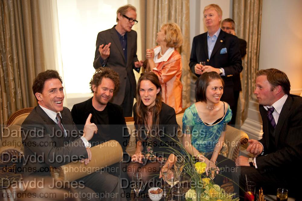 ROB BRYDON; TOM HOLLANDER; BILL NIGHY; FRAN HICKMAN; JANE WILD;  RUPERT PENRY-JONES. Langham Hotel party after a major renovation. Portland Place, London. 10 June 2009
