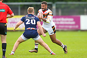 Bradford Bulls prop Colton Roche (11) in action  during the Kingstone Press Championship match between Swinton Lions and Bradford Bulls at the Willows, Salford, United Kingdom on 20 August 2017. Photo by Simon Davies.