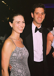 MR & MRS TONY SMURFIT he is the son of Michael Smurfit the Irish multi-millionaire, at a ball in London on 15th June 1998.MIJ 55 2olo