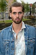 Setbezoek van de nederlandse komedie HOMIES .<br /> <br /> Op de foto:  Manuel Broekman