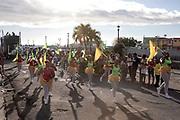 Carnival opening party in Roseau
