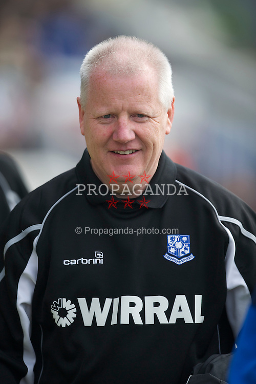 HARTLEPOOL, ENGLAND - Friday, April 22, 2011: Tranmere Rovers' manager Les Parry during the Football League One match against Hartlepool at Victoria Park. (Photo by David Rawcliffe/Propaganda)