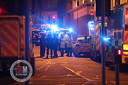 MANCHESTER UK 23.05.2017  Manchester explosion in  Manchester city centre