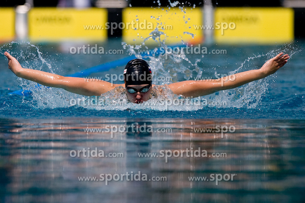 Tjasa Vozel of PK Ilirija (SLO) competes during the 35th International Swimming meeting Ljubljana 2010, on May 23, 2010 at Kodeljevo pool, Ljubljana, Slovenia. (Photo by Vid Ponikvar / Sportida)