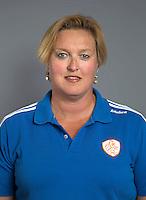 ARNHEM - Teamarts Connie van Bentum. Nederlands Hockeyteam dames voor Wereldkamioenschappen hockey 2014. FOTO KOEN SUYK