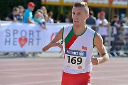 06/08/2017; Stoyanov, Hristiyan, T46, BUL at 2017 World Para Athletics Junior Championships, Nottwil, Switzerland