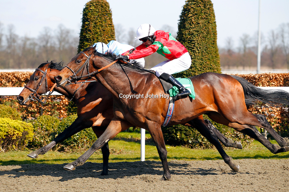 Speed Boogie and Neil Callan winning the 3.00 race