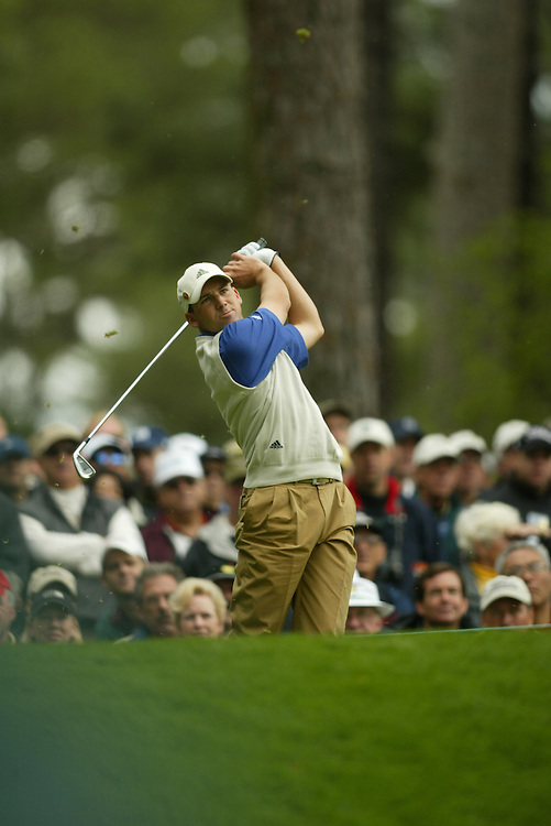 MASTERS '03..FRIDAY - APRIL 11, 2003..AUGUSTA, GA...DARREN CARROLL