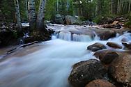 Glaicer Gorge cascade in Rocky Mountain National Park, Colorado