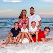 Goff Family Beach Photos - 2018