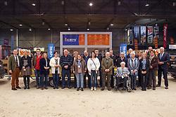Groepsfoto, Fokkers<br /> KWPN Henstenkeuring 's Hertogenbosch 2015<br /> © Dirk Caremans