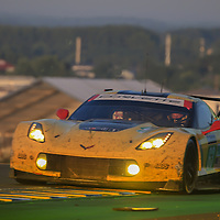 #63, Corvette Racing-GM, Chevrolet Corvette C7.R, driven by: Jan Magnussen, Antonio Garcia, Jordan Taylor, 24 Heures Du Mans 85th Edition, 18/06/2017,