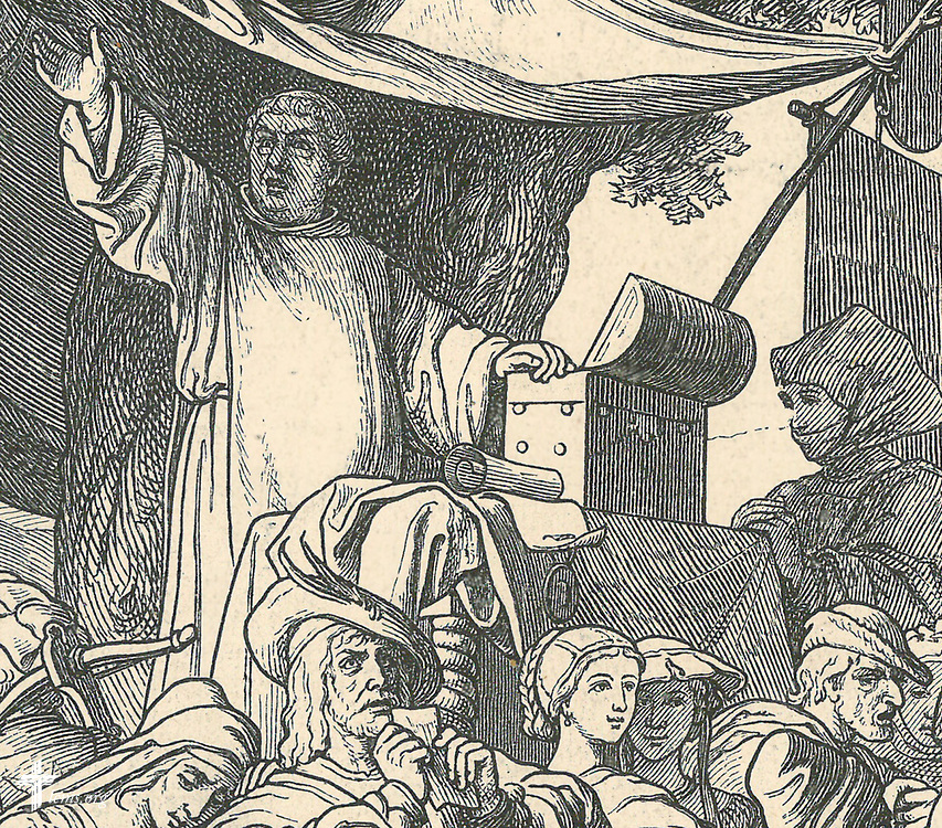 Taken from: <br /> &quot;Martin Luther: Festnummer derIllustrirten Zeitung 1483. Vienhundestjaehrigen Jubelfeier 1883&quot;, F.A. Brockhaus: Leipzig <br /> found in...