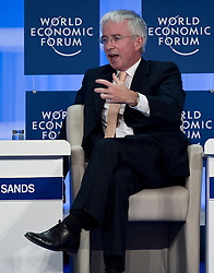 Peter Sands, Group chief executive, Standard Chartered Bank, speaks during the World Economic Forum in Brussels, Monday May 10, 2010. (Photo © Jock Fistick)