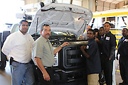 Sterling High School launched a new automotive internship that will be available to seniors at Sterling High School.<br />
