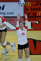 2010 Illinois State Redbirds Women's Volleyball Photos