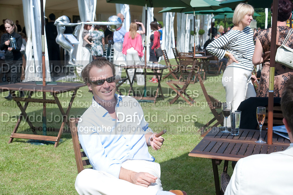 JOEL CADBURY, The Dalwhinnie Crook  charity Polo match  at Longdole  Polo Club, Birdlip  hosted by the Halcyon Gallery. . 12 June 2010. -DO NOT ARCHIVE-© Copyright Photograph by Dafydd Jones. 248 Clapham Rd. London SW9 0PZ. Tel 0207 820 0771. www.dafjones.com.