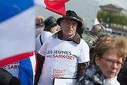 Présidentielle 2012 : Meeting de Nicolas Sarkozy place de la Concorde dimanche 15 avril 2012