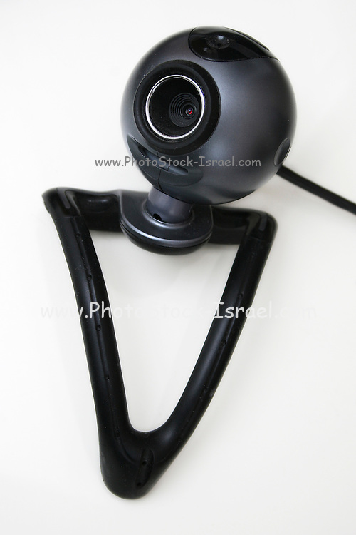 Internet Camera on white background