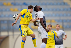 Zan Zuzek of NK Domzale during football match between NK Domzale and NK Ankaran Hrvatini in Round #30 of Prva liga Telekom Slovenije 2017/18, on May 2nd, 2018 in Sports Park Domzale, Domzale, Slovenia. Photo by Urban Urbanc / Sportida