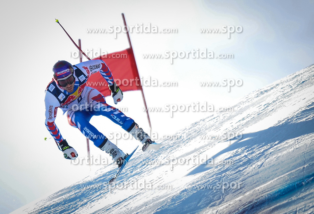 24.01.2013, Streif, Kitzbuehel, AUT, FIS Weltcup Ski Alpin, Abfahrt, Herren, 3. Training, im Bild Adrien Theaux (FRA) // Adrien Theaux of France in action during 3th practice of mens Downhill of the FIS Ski Alpine World Cup at the Streif course, Kitzbuehel, Austria on 2013/01/24. EXPA Pictures © 2013, PhotoCredit: EXPA/ Erich Spiess