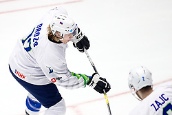 Jan Drozg of Slovenia during ice hockey match between Hunngary and Kazakhstan at IIHF World Championship DIV. I Group A Kazakhstan 2019, on May 3, 2019 in Barys Arena, Nur-Sultan, Kazakhstan. Photo by Matic Klansek Velej / Sportida