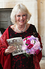 MAY 14 2014 The Duchess of Cornwall at St.Johns Church in Westminster