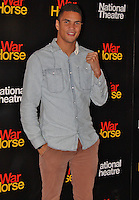 LONDON - October 25: Anthony Ogogo at the War Horse 5th Anniversary Performance (Photo by Brett D. Cove)