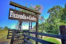 Porteira da Fazenda do Cedro, próxima a cidade de Encruzilhada do Sul, na RS 471. FOTO: Jefferson Bernardes/Preview.com