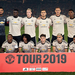 -  Man United poses for the team photo before the Pre-season match between Manchester United and Perth Glory at Optus Stadium on July 13, 2019 in Perth, Australia. (Photo by Johan Schmidt)