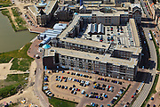 Nederland, Utrecht, Leidsche Rijn, 23-05-2011; Nieuwbouw Vleuterweide met winkelcentrum.New housing district with shopping mall. .luchtfoto (toeslag), aerial photo (additional fee required).copyright foto/photo Siebe Swart