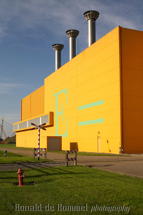The COVRA the only Dutch Nuclear waste storage facility near Borssele.