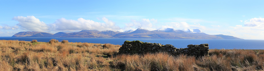 Isle Of Arran from North Kintyre, Scotland