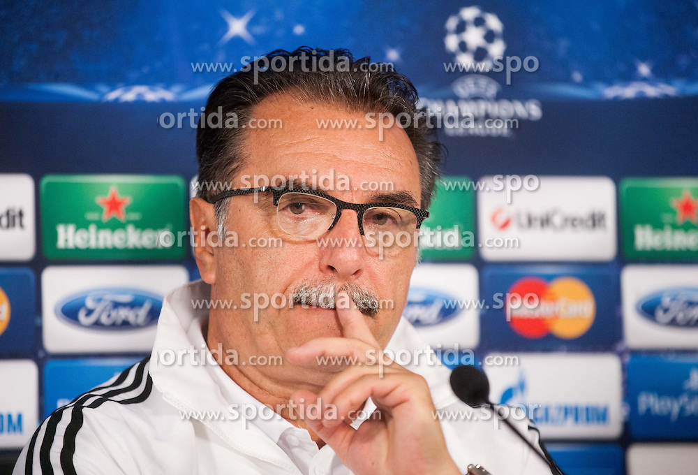 Head coach Ante Cacic during press conference of football team NK Maribor 1 day before of UEFA Champions League 2013/14 Play-Offs, Second Leg match on August 27, 2013 in Stadium Ljudski vrt, Maribor, Slovenia. (Photo by Vid Ponikvar / Sportida.com)