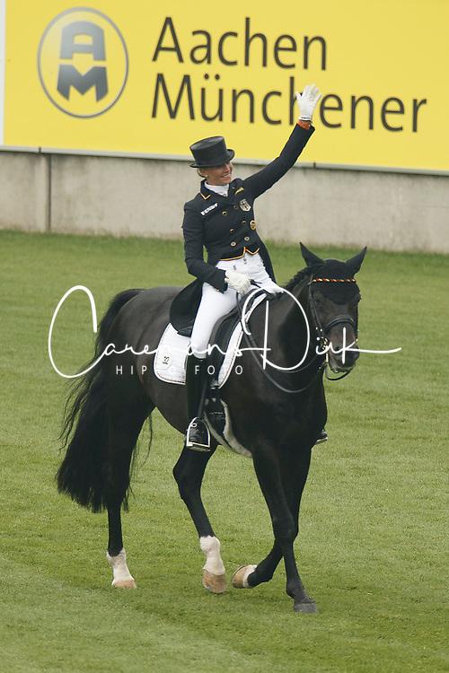 Von Bredow-Werndl Jessica, (GER), Unee BB<br /> European Championships - Aachen 2015<br /> © Hippo Foto - Dirk Caremans<br /> 12/08/15