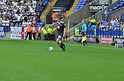 *** during the Sky Bet Championship match between Bolton Wanderers and Derby County at the Macron Stadium, Bolton, England on 8 August 2015. Photo by Mark Pollitt.