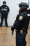 Atmosphere at NYPD Terrorist Training Manuevers held at Lincoln Center on March 3, 2010 in New York City. ..The New York Police Department train at Lincoln Center in with full tactical deployment of special units in the event of terrorist activities if ever to take place in New York City.