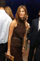 at a dinner hosted by Cartier to celebrate the opening of the 2004 Frieze Art Fair, held at Yauacha 15-17 Broadwick Street, London W1 on 13th October 2004.<br />