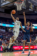 2017-18 Wake Forest Men's Basketball vs University of Virginia