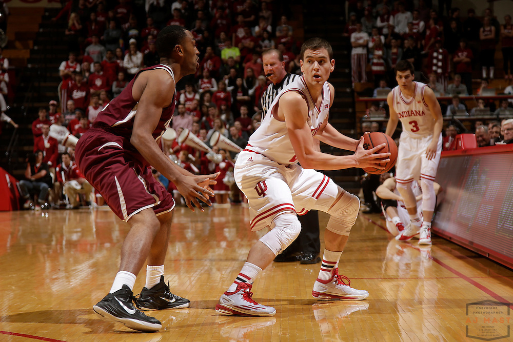 Indiana forward Nate Ritchie (23) as Texas Southern University played Indiana in an NCCA college basketball game, Monday, Nov. 17, 2014 in Bloomington, Ind.. (AJ Mast /Photo)