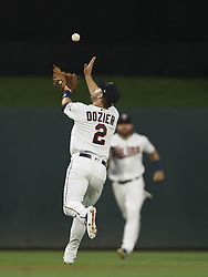 July 5, 2018 - Minneapolis, MN, U.S.A - Minnesota Twins second baseman Brian Dozier made an over the shoulder catch of a pop fly by Orioles right fielder Danny Valencia in the seventh inning.     ]  JEFF WHEELER • jeff.wheeler@startribune.com ....The Twins beat the Baltimore Orioles 5-2 in an MLB baseball game Thursday night, July 5, 2018 at Target Field in Minneapolis. (Credit Image: © Jeff Wheeler/Minneapolis Star Tribune via ZUMA Wire)