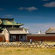 Erdene Zuu Khiid monastery in Kharkhorin (Kharkhorin (Karakorum), Mongolia - Sep. 2008) (Image ID: 080910-1512371a)