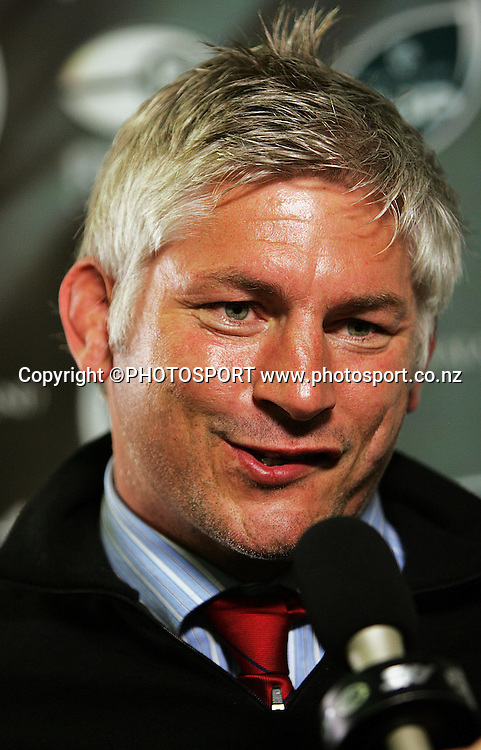 Tasman coach Todd Blackadder.<br /> Air NZ Cup. Manawatu Turbos v Tasman Makos at Arena Manawatu, Palmerston North, New Zealand, Saturday, 4 October 2008. Photo: Dave Lintott/PHOTOSPORT