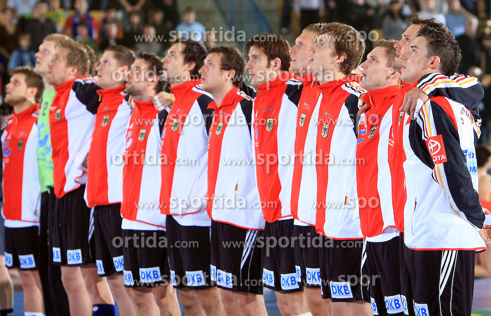 German team at qualification match for  Euro 2010 in Austria between national teams of Slovenia and Germany, Group 5, on November 2, 2008 in Arena Zlatorog, Celje, Slovenia. (Photo by Vid Ponikvar / Sportal Images)/ Sportida