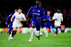 Ngolo Kante of Chelsea makes a break  - Mandatory by-line: Ryan Hiscott/JMP - 10/12/2019 - FOOTBALL - Stamford Bridge - London, England - Chelsea v Lille - UEFA Champions League group stage