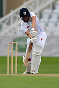 during the Bob Willis Trophy match between Nottinghamshire County Cricket Club and Derbyshire County Cricket Club at Trent Bridge, Nottingham, United Kingdon on 4 August 2020.