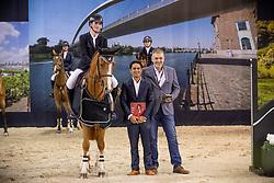 Philippaerts Anthony, BEL, All Right Du Genet<br /> JIM Maastricht 2018<br /> © Hippo Foto - Dirk Caremans<br /> 25/11/2018