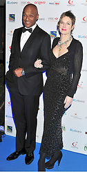 © under license to London News Pictures. 04/03/11.Colin Salmon and Fiona Hawthorne attend  Lebara British Asian Sports Awards , Saturday 5th March 2011 at the Grosvenor House Hotel, Park Lane, London. Photo credit should read alan roxborough/LNP