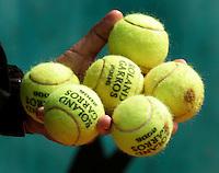 PARIJS: Frans Open Tennis Roland Garros. Zondag is het Grand Slam toernooi van Roland Garros begonnen.KOEN SUYK